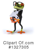 Green Frog Clipart #1327305 by Julos