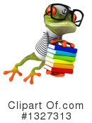 Green Frog Clipart #1327313 by Julos