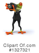 Green Frog Clipart #1327321 by Julos