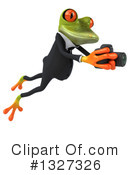 Green Frog Clipart #1327326 by Julos