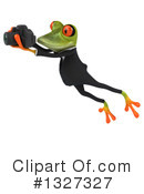 Green Frog Clipart #1327327 by Julos