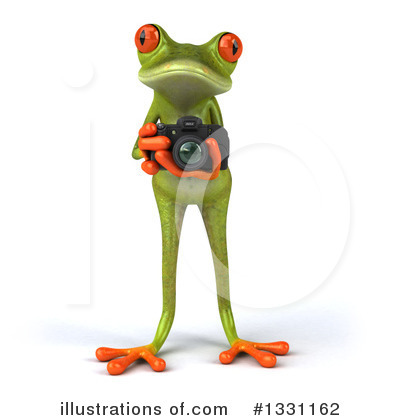 Green Frog Clipart #1331162 by Julos