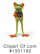 Royalty-Free (RF) Green Frog Clipart Illustration #1331162