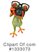 Green Frog Clipart #1333073 by Julos