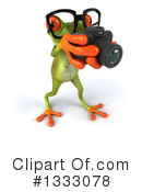 Green Frog Clipart #1333078 by Julos