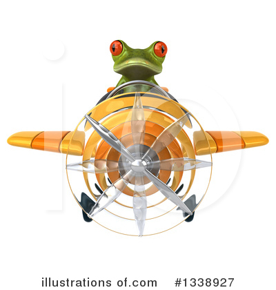 Green Frog Clipart #1338927 by Julos