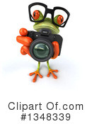 Green Frog Clipart #1348339 by Julos