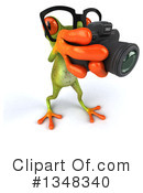 Green Frog Clipart #1348340 by Julos