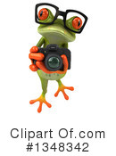 Green Frog Clipart #1348342 by Julos