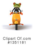 Green Frog Clipart #1351181 by Julos