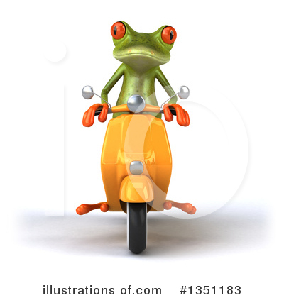 Green Frog Clipart #1351183 by Julos