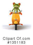 Royalty-Free (RF) Green Frog Clipart Illustration #1351183