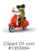 Green Frog Clipart #1353984 by Julos