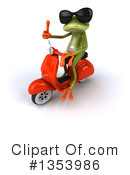 Green Frog Clipart #1353986 by Julos
