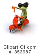 Green Frog Clipart #1353987 by Julos