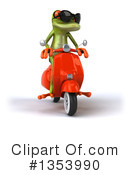 Green Frog Clipart #1353990 by Julos