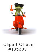 Green Frog Clipart #1353991 by Julos