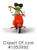 Green Frog Clipart #1353992 by Julos