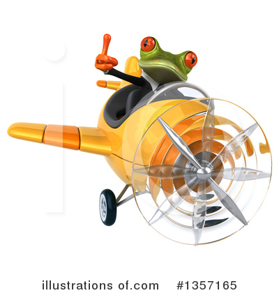 Green Business Frog Clipart #1357165 by Julos