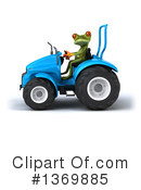 Green Frog Clipart #1369885 by Julos