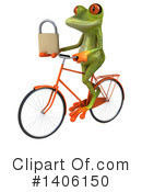 Green Frog Clipart #1406150 by Julos