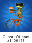Green Frog Clipart #1406198 by Julos
