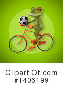 Green Frog Clipart #1406199 by Julos