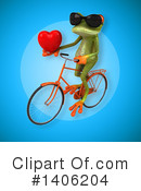 Green Frog Clipart #1406204 by Julos