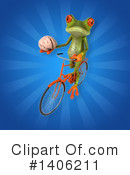 Green Frog Clipart #1406211 by Julos