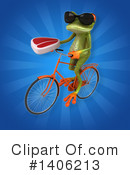 Green Frog Clipart #1406213 by Julos