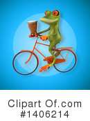 Green Frog Clipart #1406214 by Julos