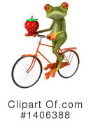 Green Frog Clipart #1406388 by Julos