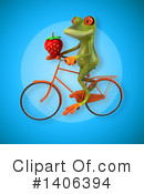 Green Frog Clipart #1406394 by Julos