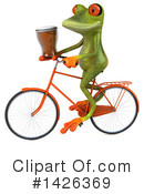 Green Frog Clipart #1426369 by Julos