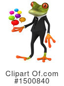 Green Frog Clipart #1500840 by Julos