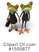 Royalty-Free (RF) Green Frog Clipart Illustration #1500877