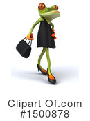 Royalty-Free (RF) Green Frog Clipart Illustration #1500878