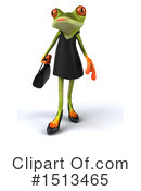 Royalty-Free (RF) Green Frog Clipart Illustration #1513465