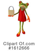 Green Frog Clipart #1612666 by Julos