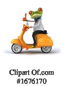 Green Frog Clipart #1676170 by Julos