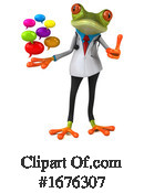 Green Frog Clipart #1676307 by Julos