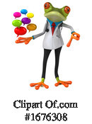 Green Frog Clipart #1676308 by Julos