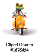 Green Frog Clipart #1676454 by Julos
