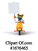Green Frog Clipart #1676465 by Julos