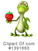 Green Gecko Clipart #1391663 by Julos