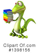 Green Gecko Clipart #1398156 by Julos