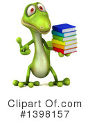 Green Gecko Clipart #1398157 by Julos