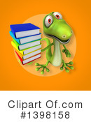 Green Gecko Clipart #1398158 by Julos