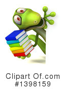 Green Gecko Clipart #1398159 by Julos