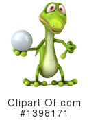 Green Gecko Clipart #1398171 by Julos
